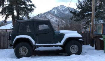 Used 1994 Jeep YJ Wrangler full